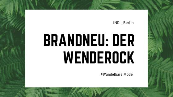 Brandneu: Der Wenderock
