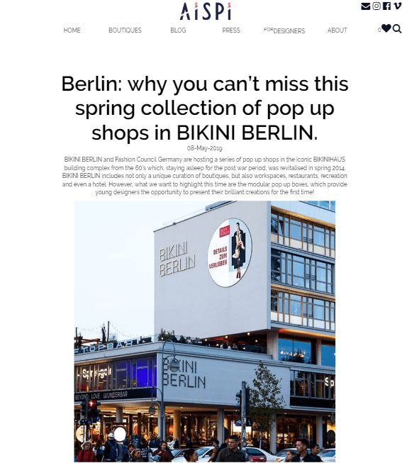 Fair Fashion in Berlin