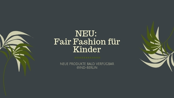 Fair Fashion für Kinder